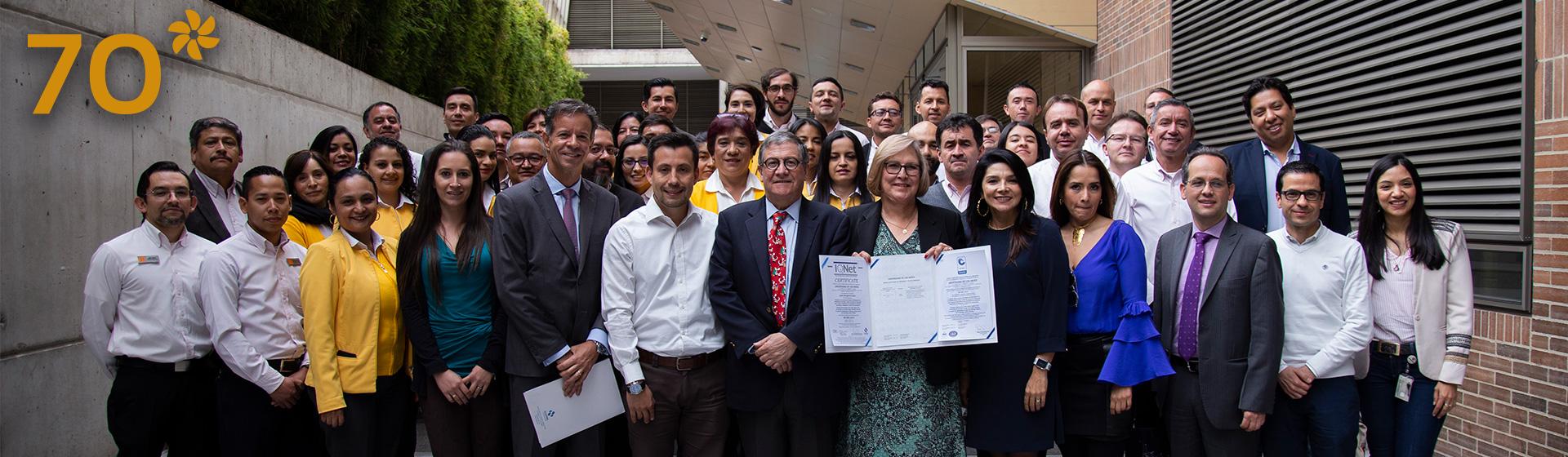 Certificación de calidad ISO 9001:2015