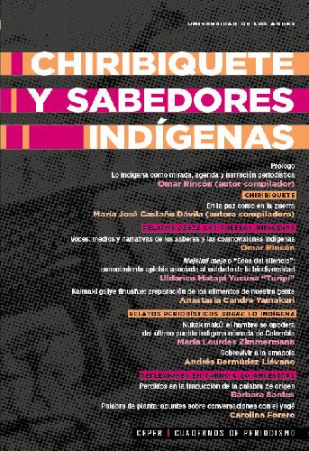 Cubierta del libro Chiribiquete y sabedores indígenas