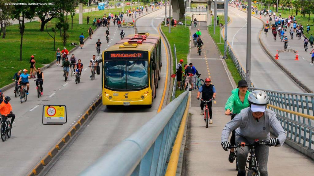 Ciclovía de Bogotá Calle 26