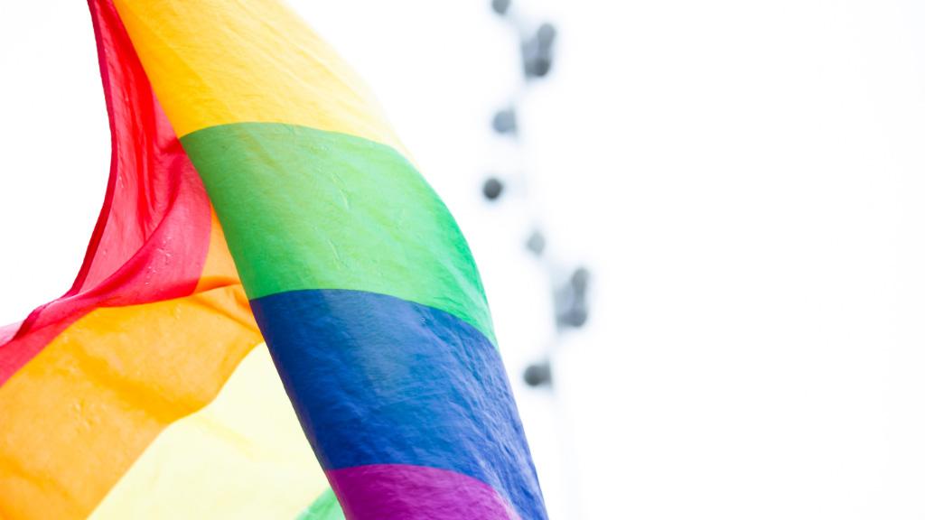 Foto de la bandera LGBTQ+