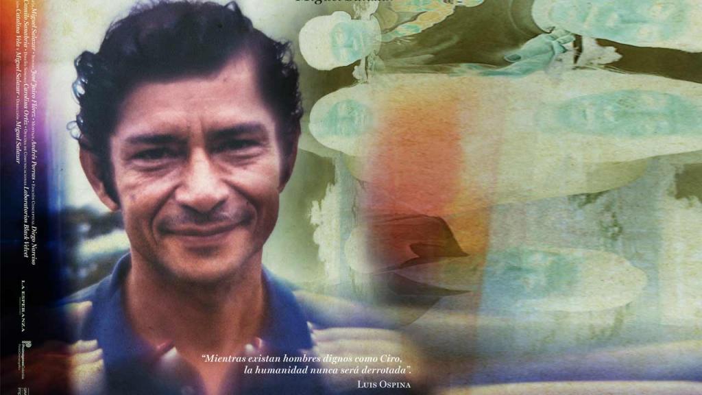 Afiche del documental Ciro y yo, con el rostro del hombre que lo protagoniza