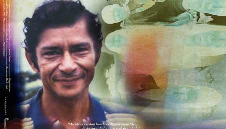 Afiche del documental Ciro y yo, con el rostro de un hombre.