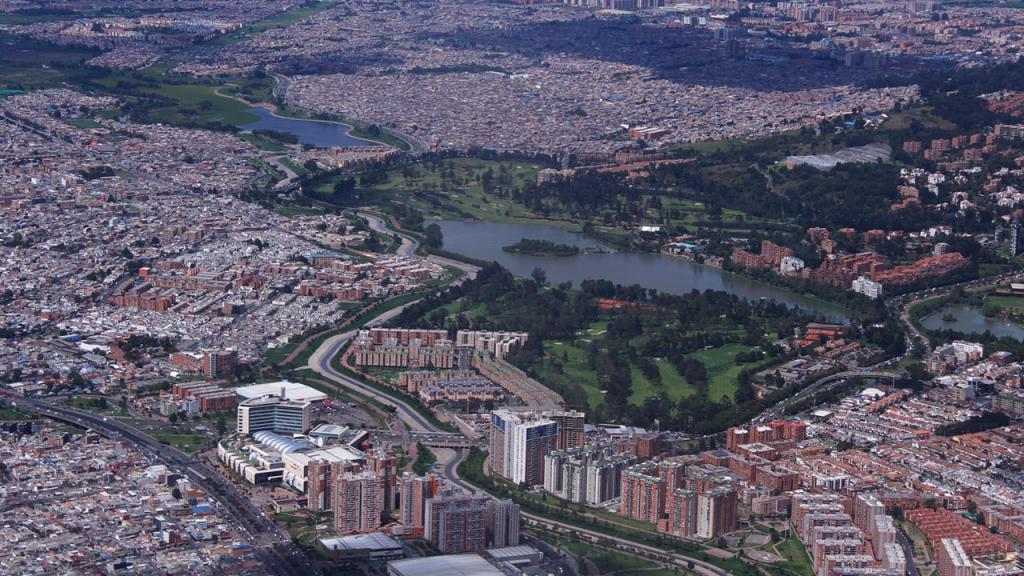 Panorámica de la ciudad.