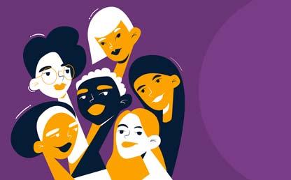 Ilustración de varias mujeres