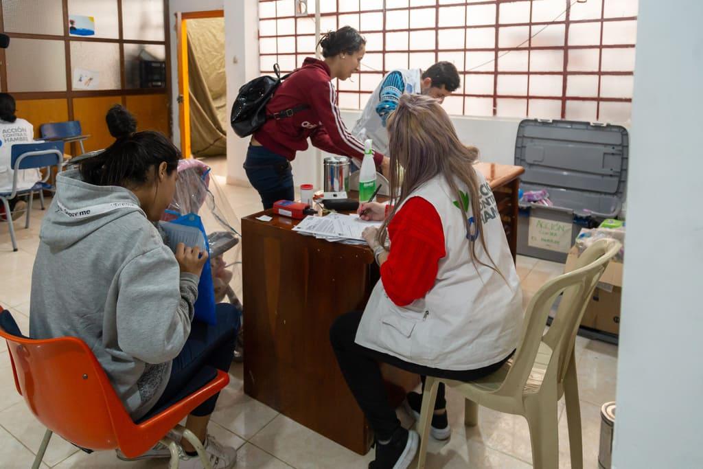 Foto de integrantes de Acción Contra el Hambre
