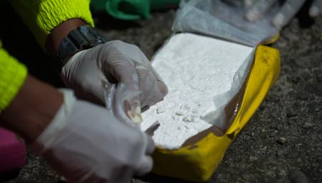 Incautación de cocaína