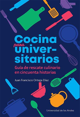 Cubierta del libro Cocina para universitarios