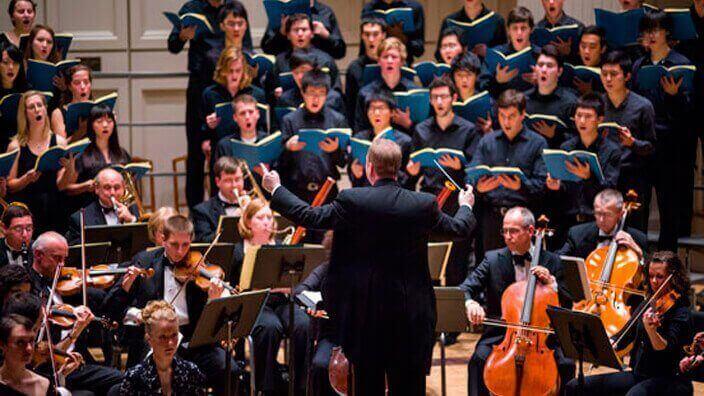 Coro de los Andes y Coro Colgate University