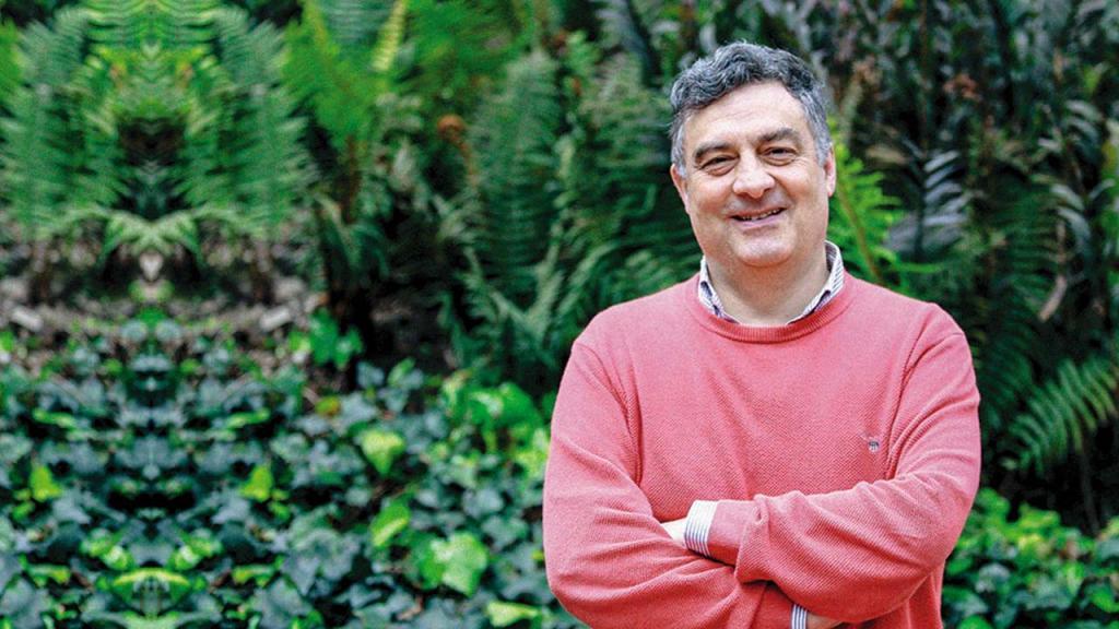 Retrato de Carl Henrik Langebaek Rueda, vicerrector Académico de la Universidad de los Andes.