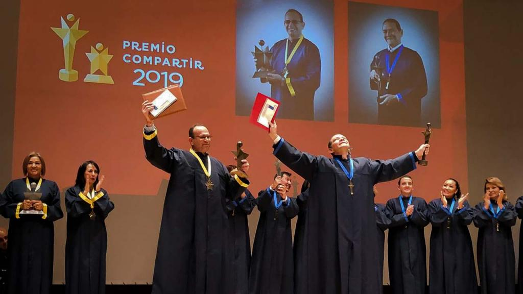 Premio Compartir al Maestro 2019.