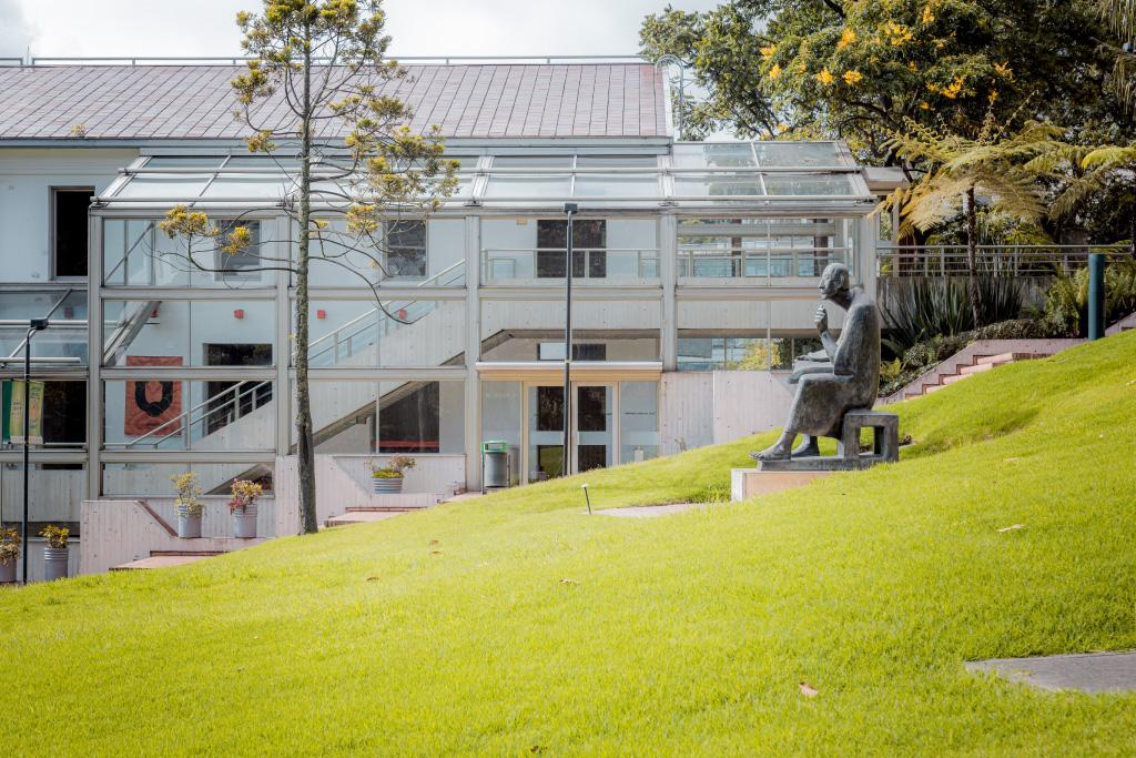 Foto del campus de Uniandes