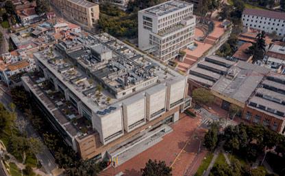 Foto del campus de la Universidad de los Andes