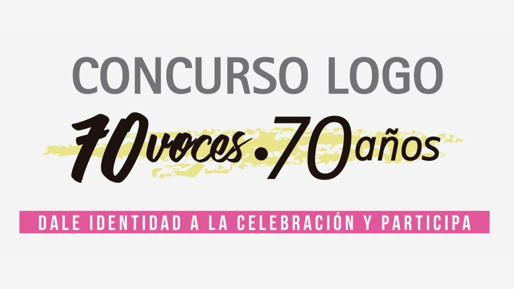 '70 voces - 70 años' busca logo conmemorativo de la Universidad