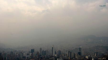 Contaminación del aire en la ciudad