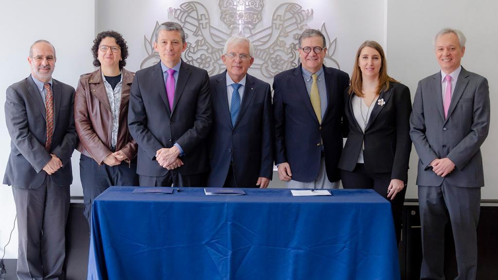 Directivos de la Universidad Javeriana, Rosario y Los Andes