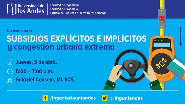 Subsidios explícitos e implícitos y congestión urbana extrema