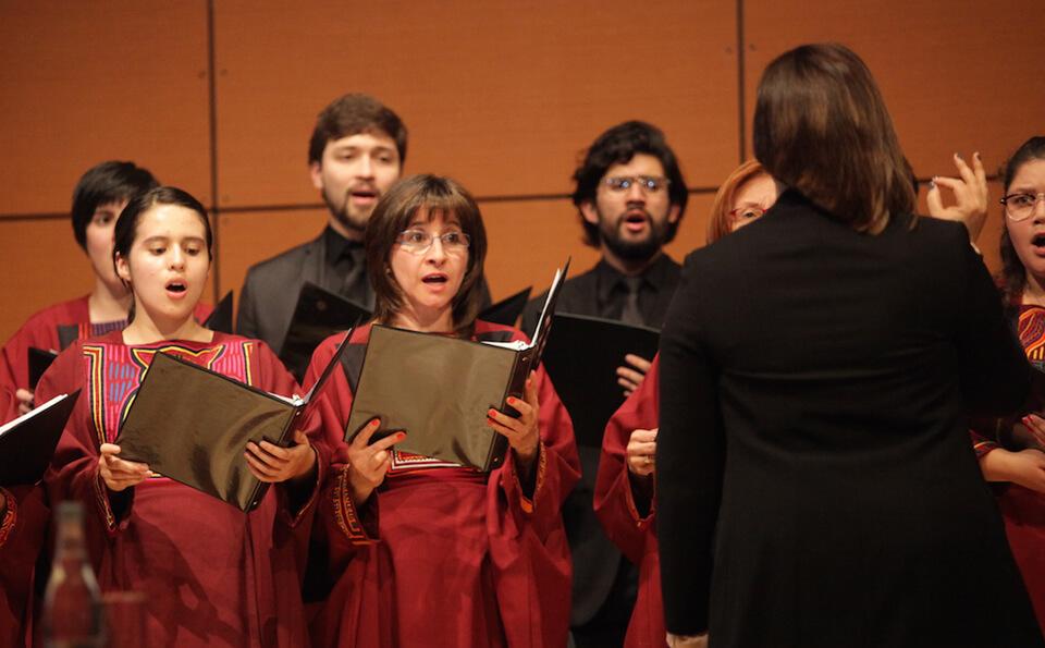 Foto Coro universidad de los andes