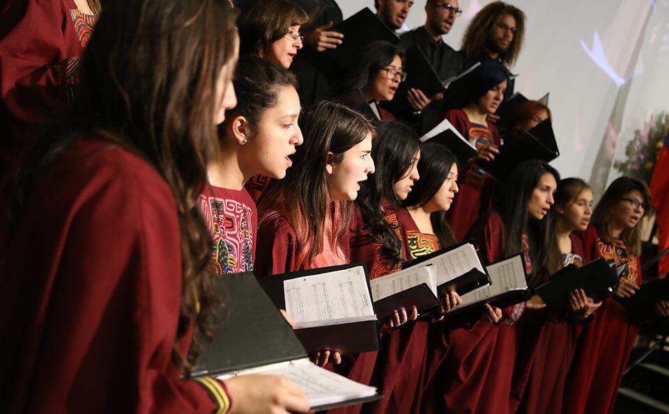 Coro de los Andes