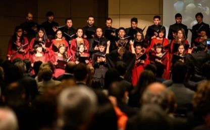 Coro Uniandes interpreta himno tradicional universitario gaudeamus igitur