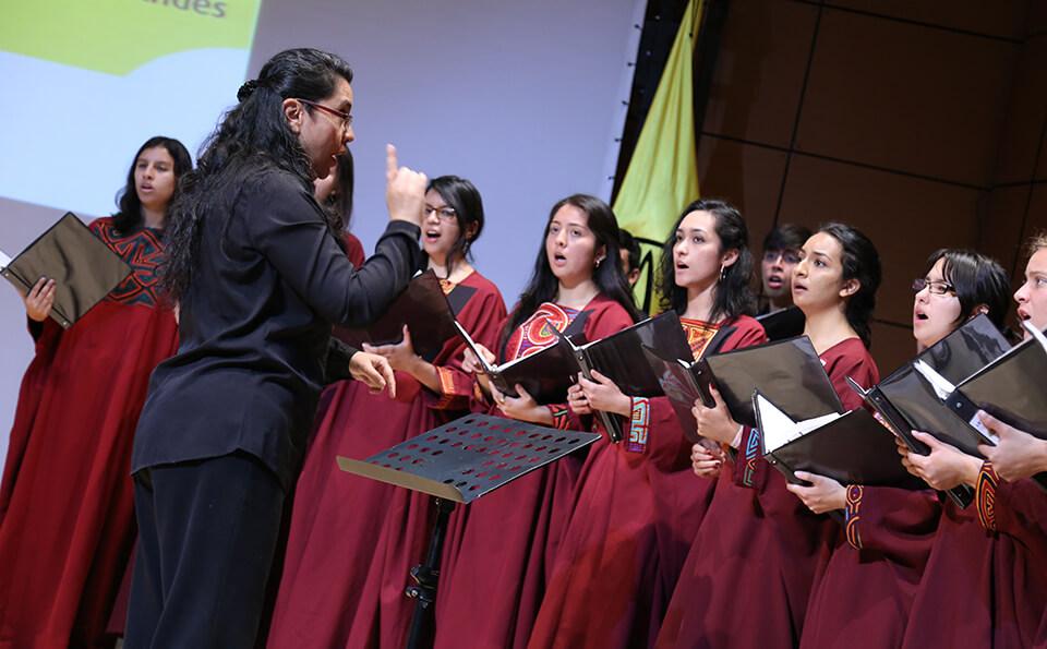 Foto Coro Universidad de los Andes posgrados 2016-2