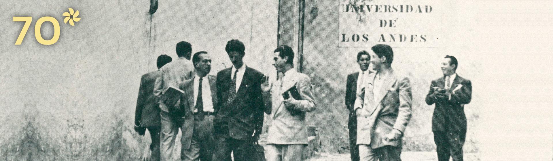 Imagen fachada Universidad de los Andes 1948
