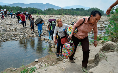 migracion venezolana a colombia