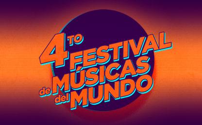 Ilustración del IV Festival de Músicas del Mundo