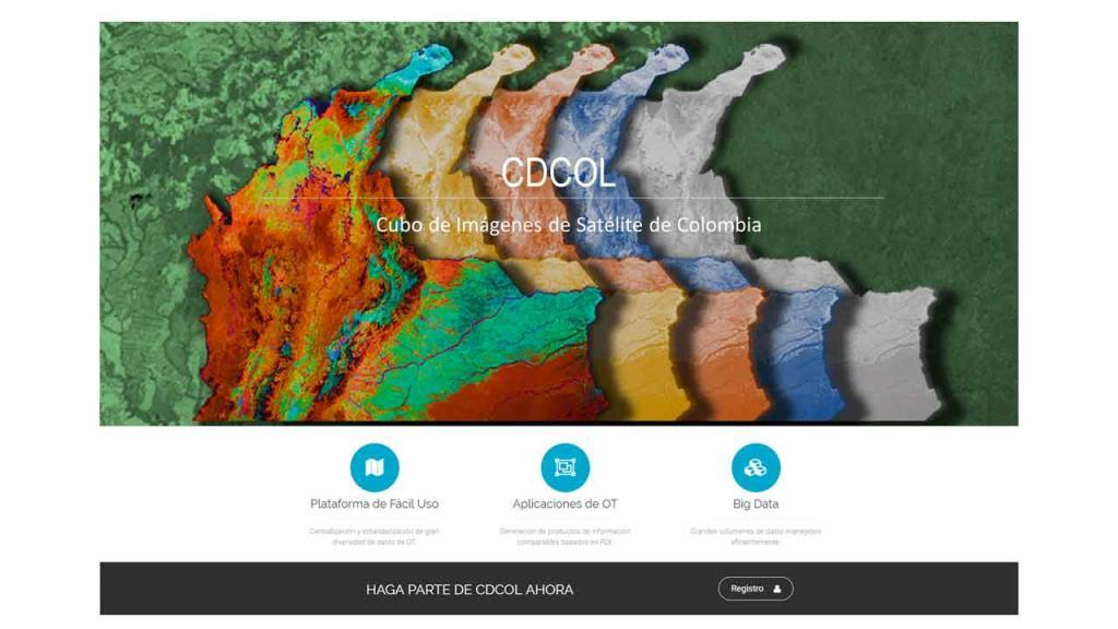 Graficación de un mapa de Colombia en distintos colores.