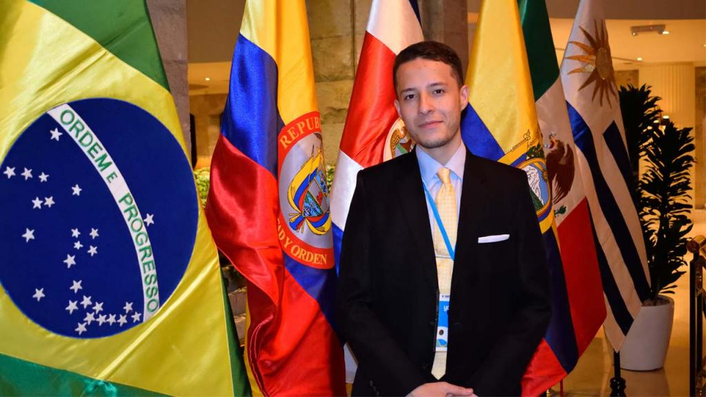 Imagen de Jhon Steven Contreras Marín, estudiante de Ciencia Política de Los Andes.