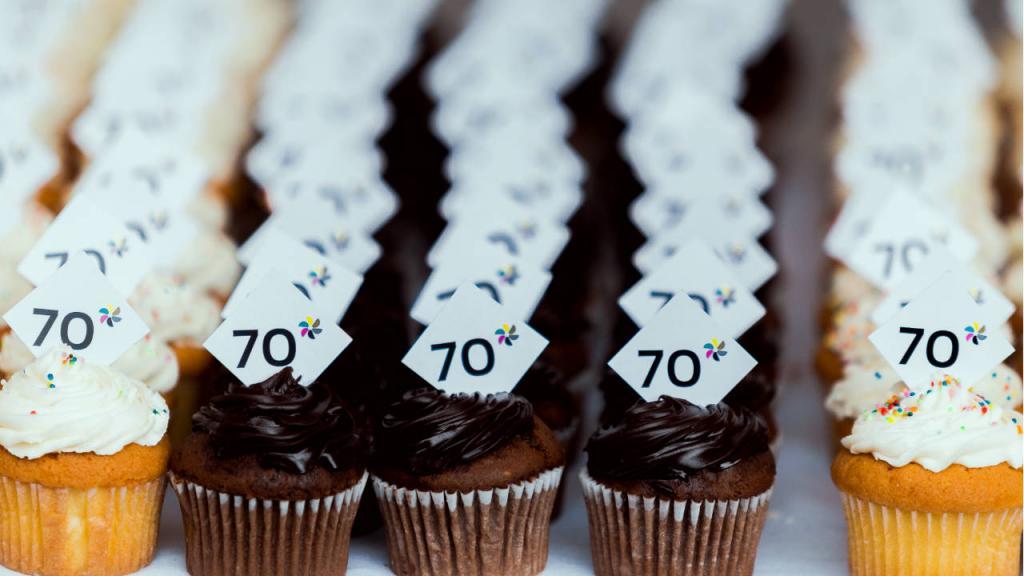 Cupcakes, 70 años Universidad de los Andes