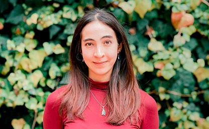 Daniela Fazio, graduada que recibió grado summa cum laude en la ceremonia de grados 2018-2.