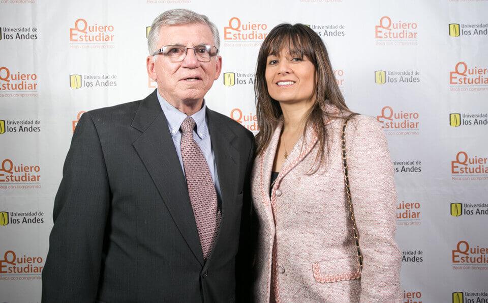 Darío Meza Latorre y Larissa Joya Olarte
