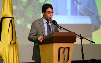 David Ricardo Luna Vinueza graduando facultades derecho econnomia