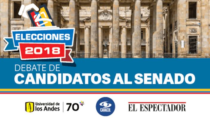 Debate de candidatos al Senado - Elecciones 2018
