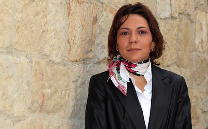 Foto de María Consuelo Burgos, decana de Estudiantes de Los Andes.
