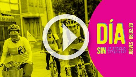 Imagen de invitación al Día Sin Carro