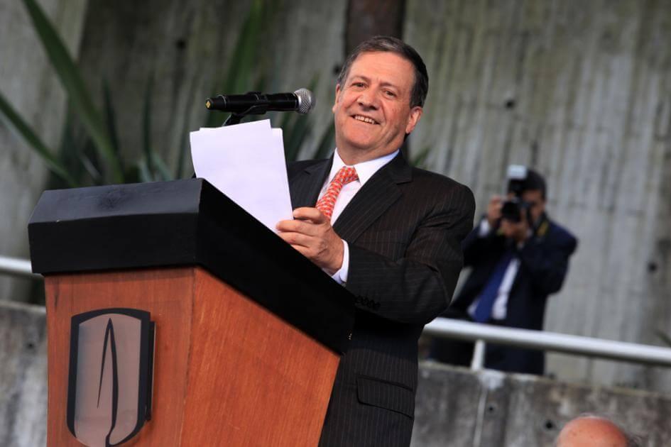 Rector Pablo Navas Sanz de Santamaría universidad de los andes discurso posesion