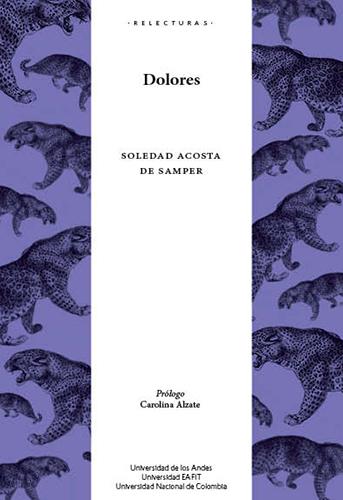 Cubierta del libro Dolores