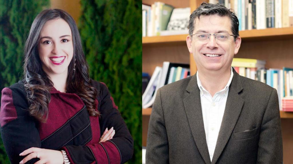 Foto de Cinthia Sánchez y José Darío Herrera
