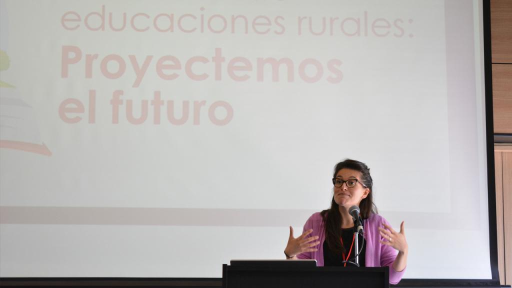 Imagen de Diana Rodríguez Gómez, profesora de la Facultad de Educación de Los Andes.