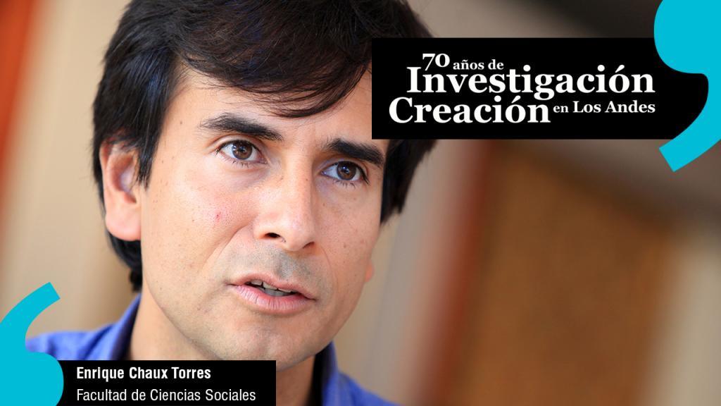 Enrique Chaux, profesor titular Departamento de Psicología