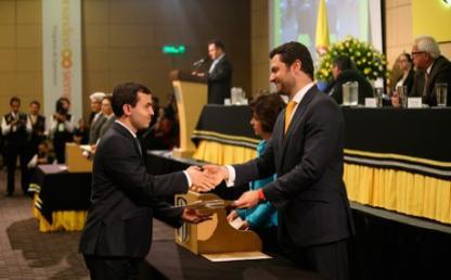 Entrega de diplomas, Ceremonia grados pregrado 2016-1 segunda ceremonia