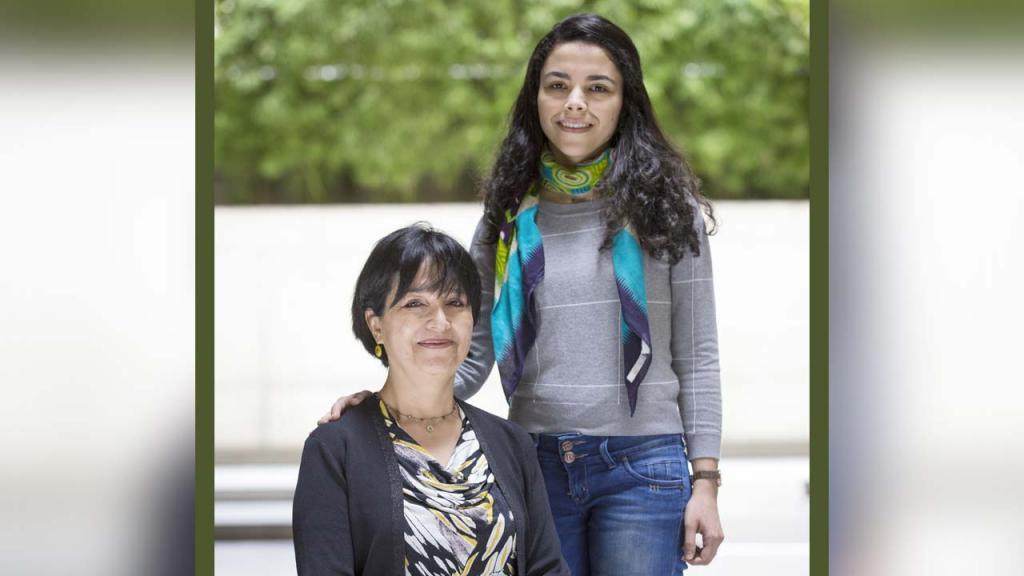 Rubby Casallas y Kelly Garcés, profesoras del Departamento de Ingeniería de Sistemas y Computación de la Facultad de Ingeniería.