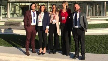Foto de los integrantes del equipo de Los Andes