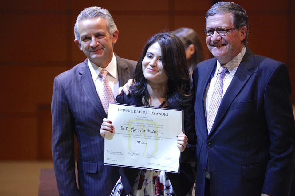 Foto Erika González graduanda