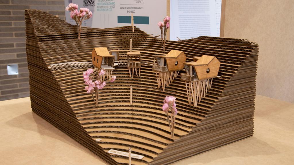 Imagen de trabajo de arquitectura de la muestra Escalando.