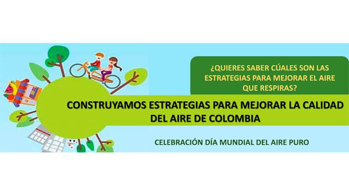 Construyamos estrategias para mejorar la calidad del aire en Colombia