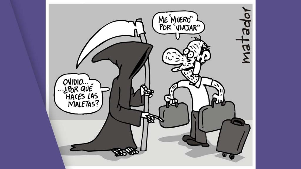 Eutanasia en Colombia, caricatura matador