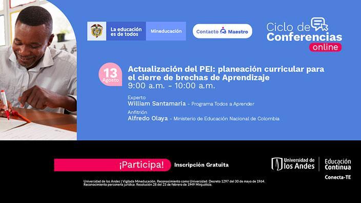 Actualización del PEI: planeación curricular para el cierre de brechas de Aprendizaje