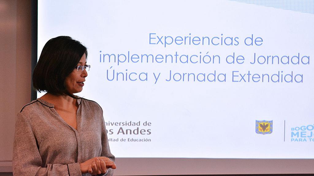 Paola García, gerente de Jornada Única, Secretaría de Educación de Bogotá.